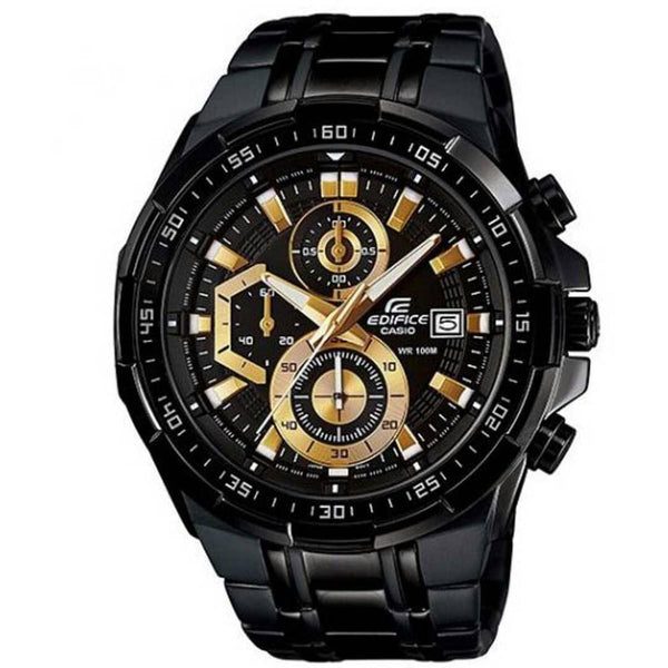 CASIO EDIFICE MEN'S WATCH IN BLACK COLOUR