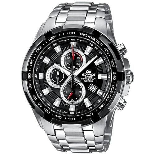 CASIO EDIFICE MEN'S WATCH IN SILVER COLOUR