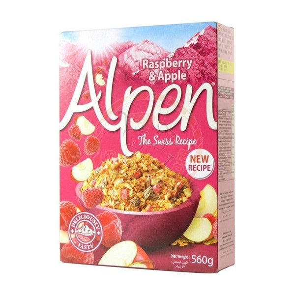 Alpen Raspberry &Apple 560g