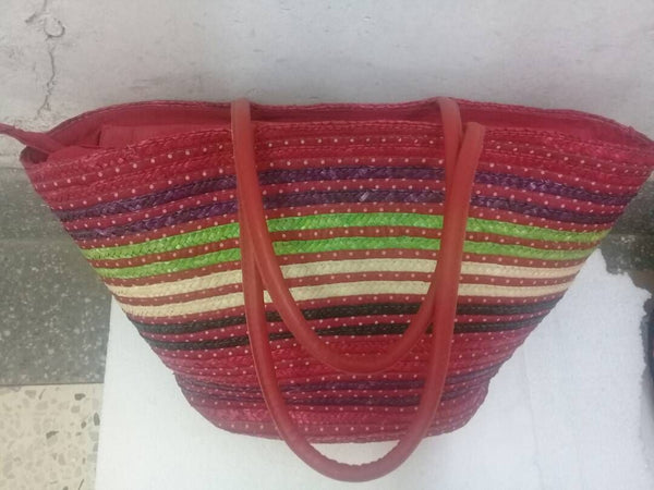 Beach Bag In Mix Color