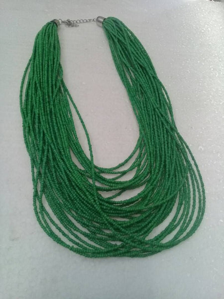 Green African Necklace