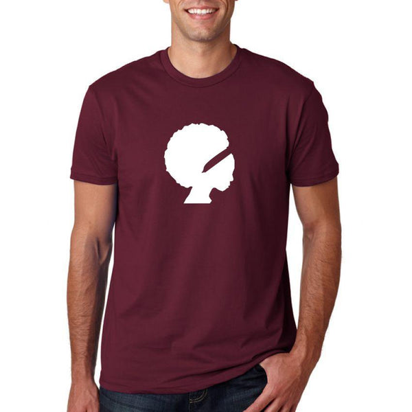 Round Neck T-Shirt 1 - Maroon Colour