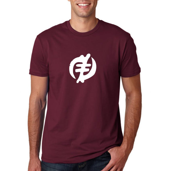 Round Neck T-Shirt 20 - Maroon Colour
