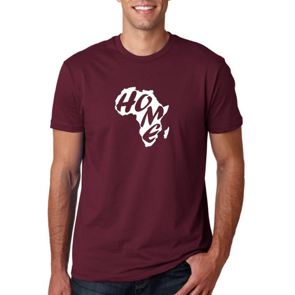 Round Neck T-Shirt 8 - Maroon Colour