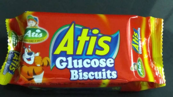 Atis Glucose Red Biscuits 45Gms - 10 Packets