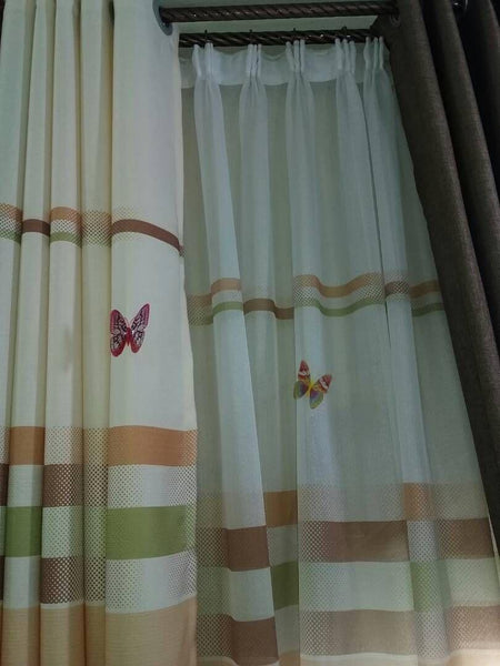 Butterfly Curtains Per Meter