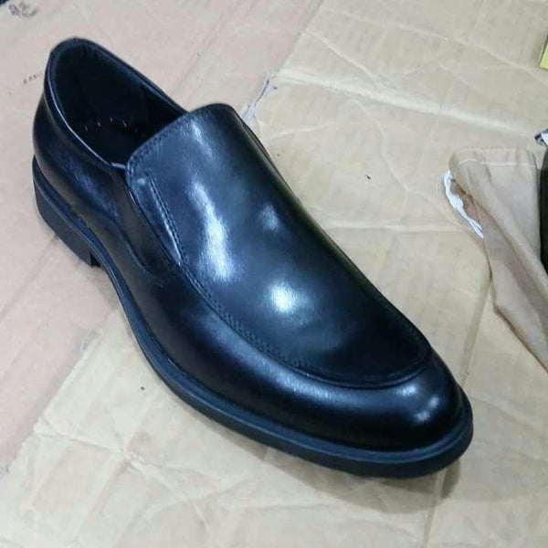 Gentle Clarks Pure Leather Black Shoes