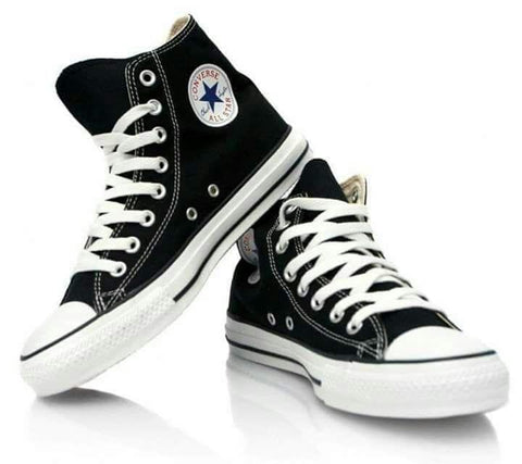 All Stars White And Black Mens Shoes