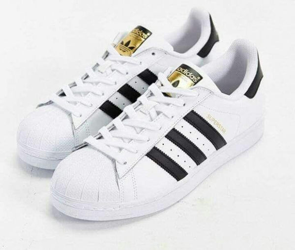 Adidas Black And White Mens Shoes