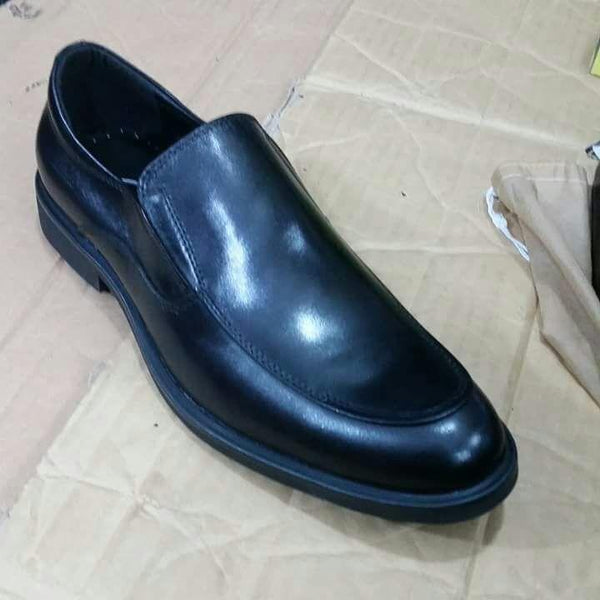 Clarks Black Gentle Mens Shoes