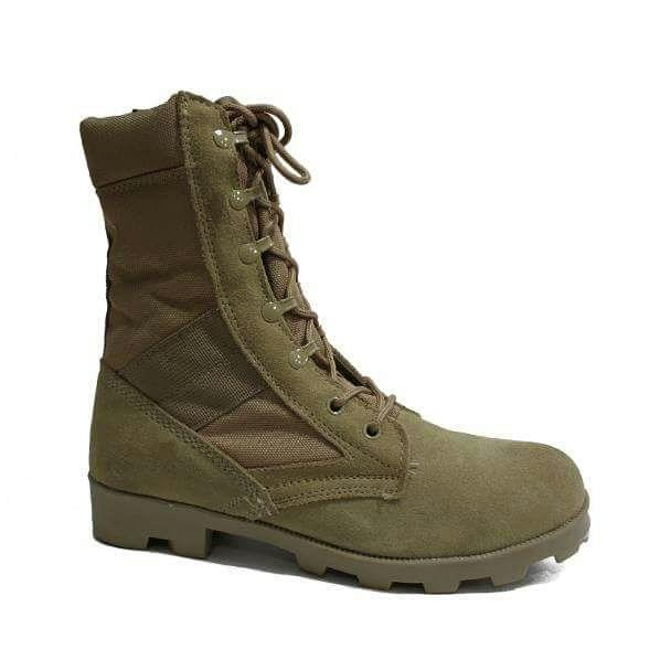 Desert Storm Green Mens Shoes