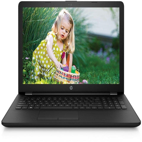 HP 15 Celeron N3060 Laptop - Jet Black