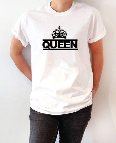White Queen Ladies T-Shirt