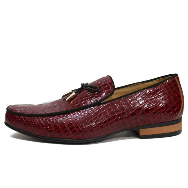 Classic Maroon Mens Shoes