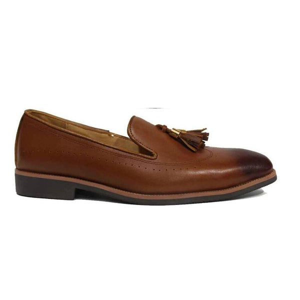 Barton Brown Mens Shoes