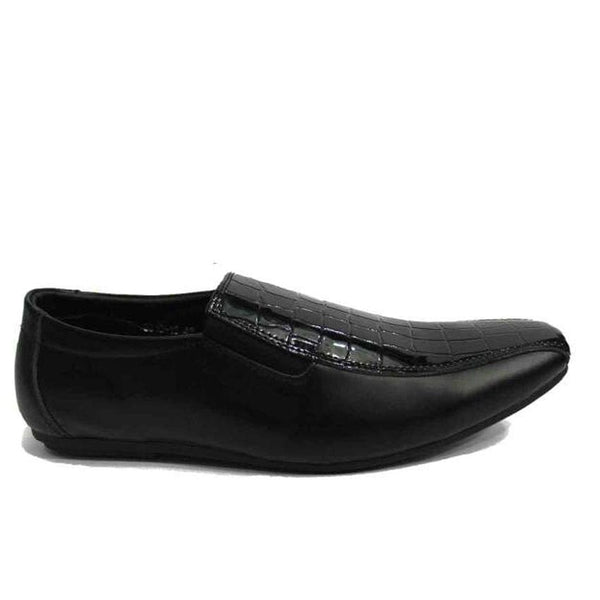 Zara Black Mens Shoes With Shiny Leather
