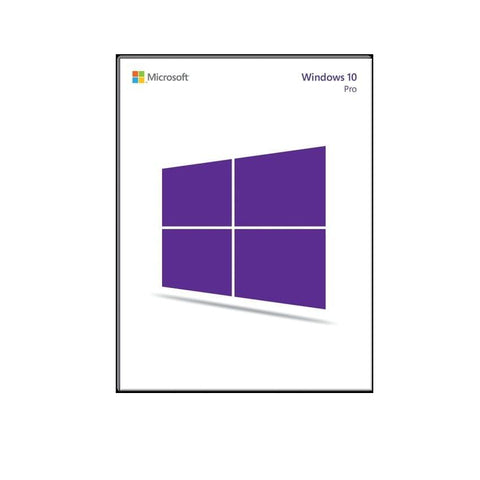 Microsoft Win Pro 10 32-bit/64-bit All Language PK Lic Online Download NR (FQC-09131)