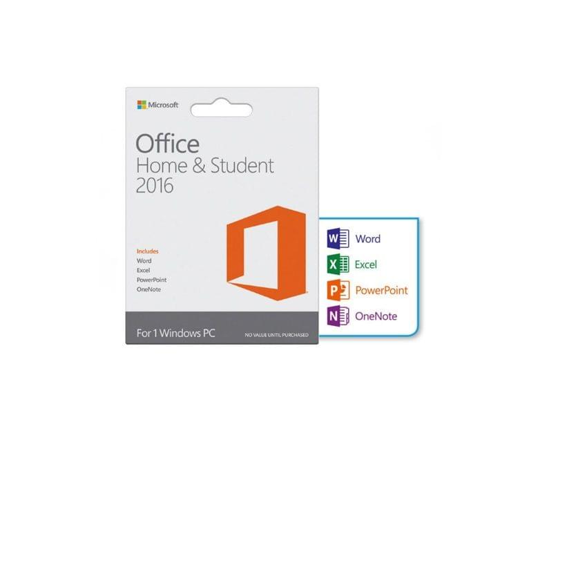 Microsoft Office Home and Student 2016 Win All Language PKL Onln AfricaOnly  Download C2R NR (79G-04289)
