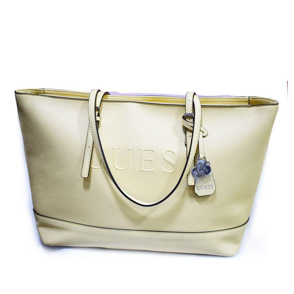 Guess Open Light Yellow Bag