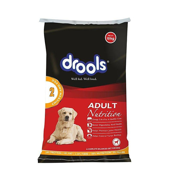Drools Adult - Chicken & Egg.10 Kgs
