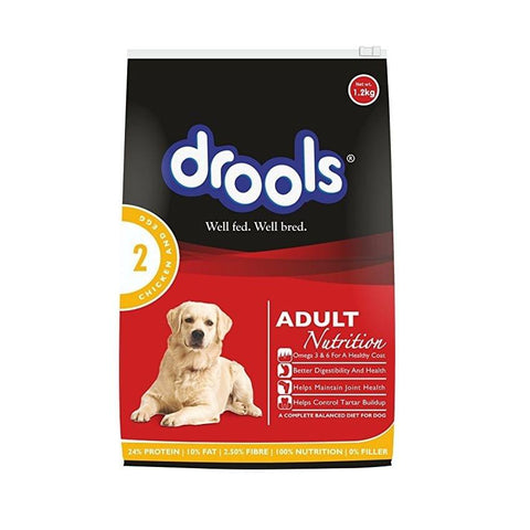 Drools Adult - Chicken & Egg.1.2 Kgs
