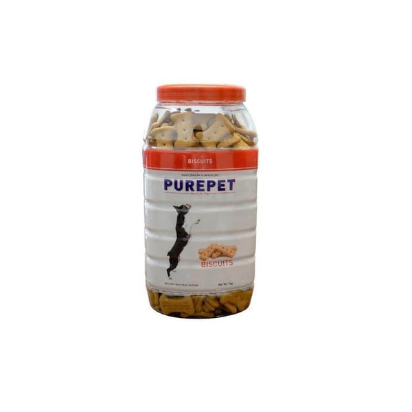 Drools Purepet Biscuit - Mix (For Dogs) - Chicken Flavour 500 Gms