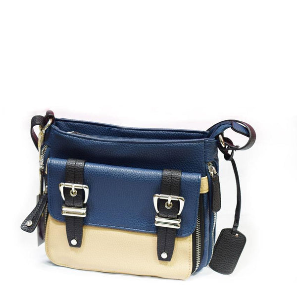 Blue And Cream Jessica Simpson Cross Bag