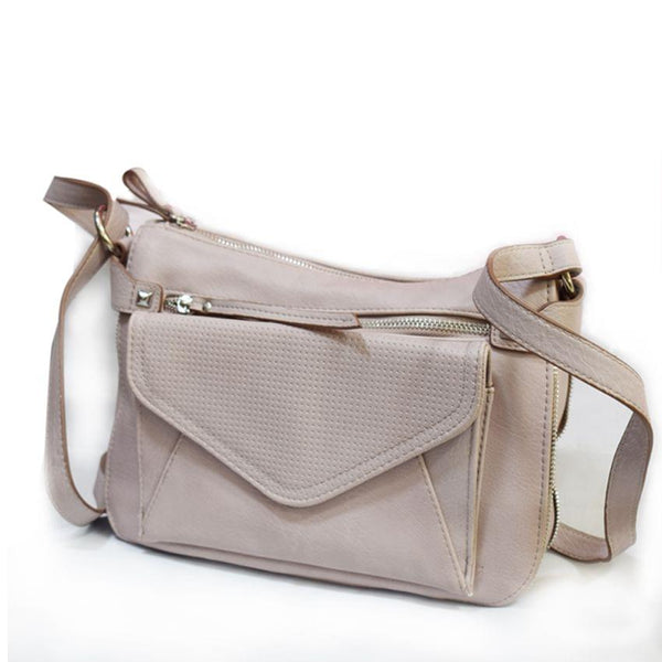 Jessica Simpson Cream Cross Bag