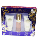 White Diamonds Perfume Set (Body Lotion,Shower Gel And Perfume)