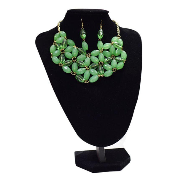 Charles Klein Green Ladies Necklace