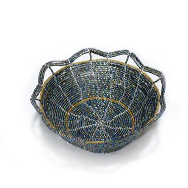 Fruits Beaded Basket Multicoloured 1