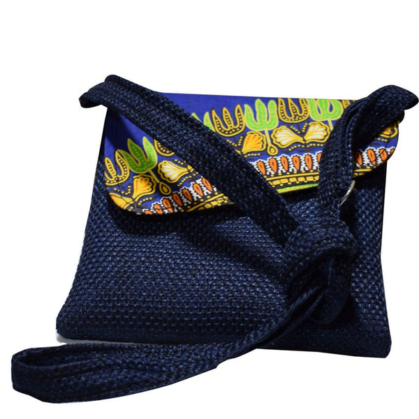 Ladies Cross Bag Navy Blue