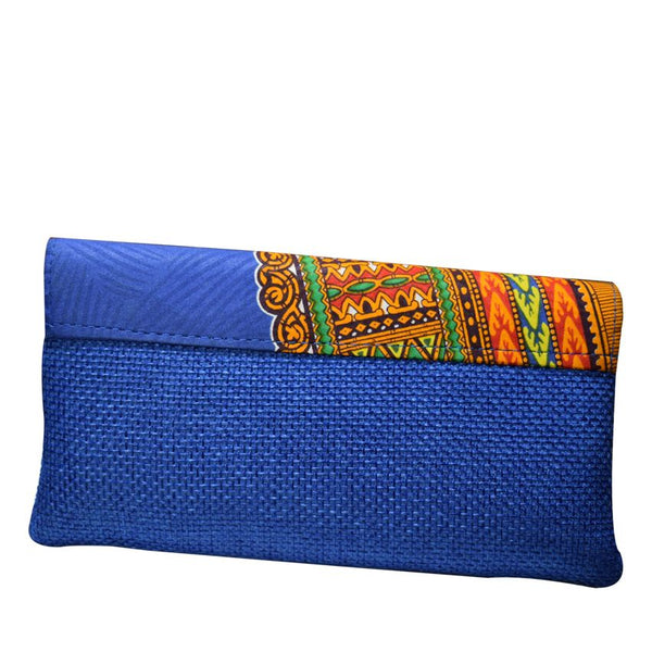 Ladies Clutch Bag Blue