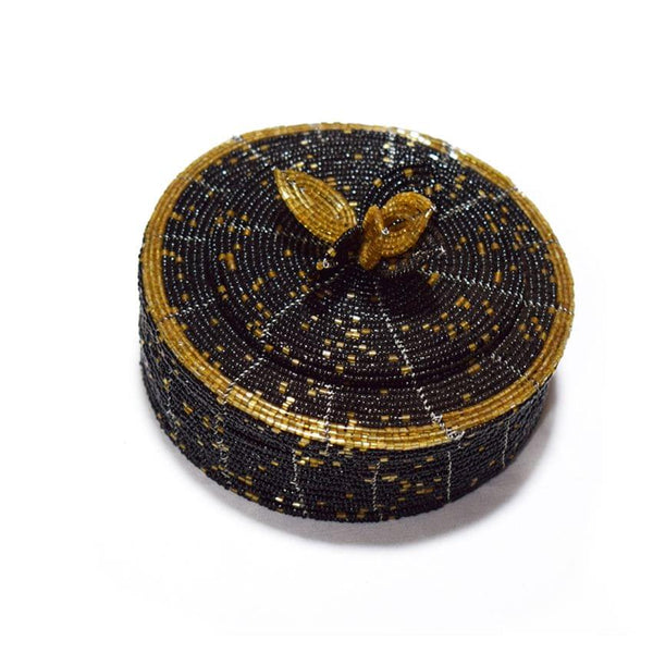 Jewellery Box Black And Gold