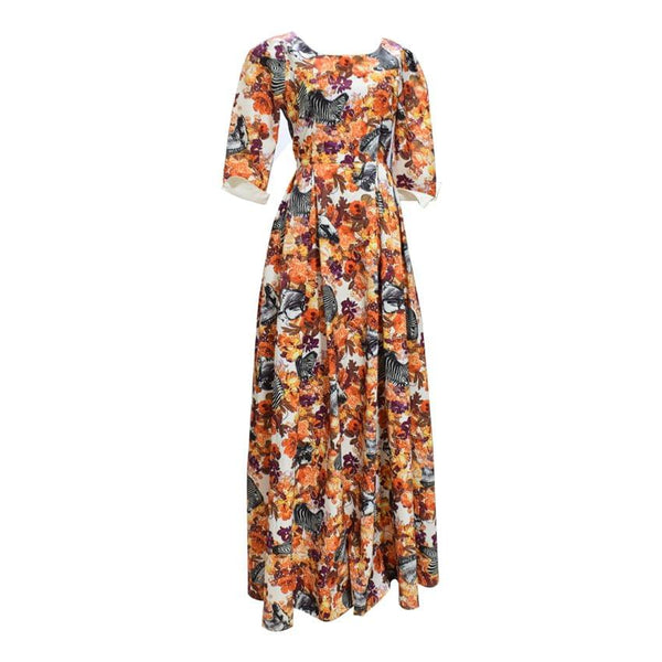 Floral Lovely Long Dress