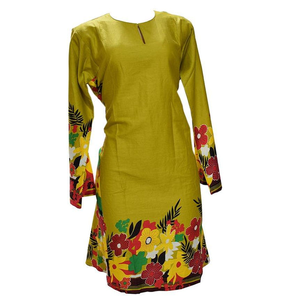 Multicoloured Long Sleeved Dress