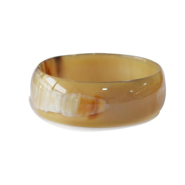 Cow Horn Golden Bangle