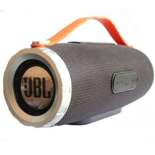 Wireless And Rechargeable Black Speaker