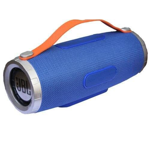 Wireless And Rechargeable Blue Speaker
