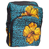 Big Blue And Yellow Back Pack
