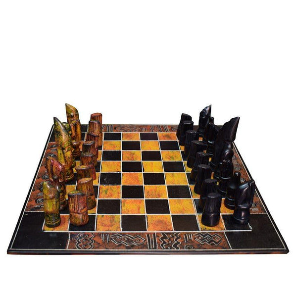 Wood Chess Board Game
