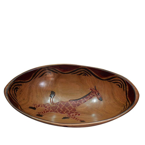 Brown Animal Bowl