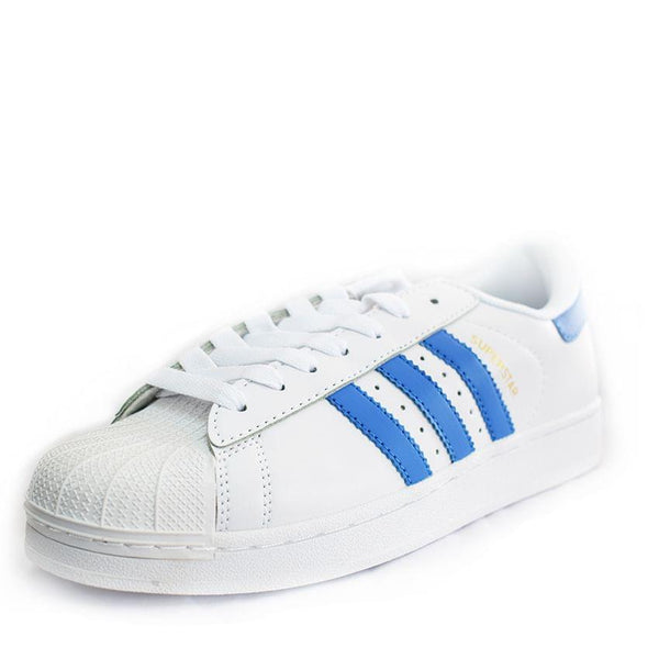 Blue And White Adidas Shoes
