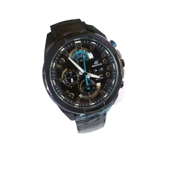 Edifice Black Men's Watch