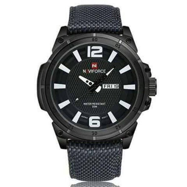 Black Naviforce Men's Watch