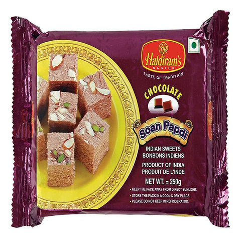 Haldiram's Chocolate Soan Papdi 250Gm