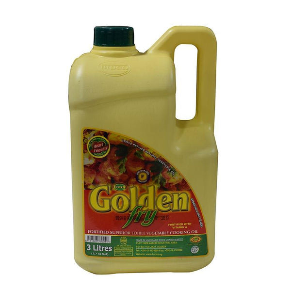 Golden Fry Vegetable Cooking Oil 3 Litres