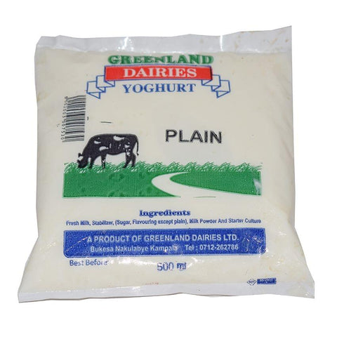 Greenland Dairy Plain Yoghurt 500Ml