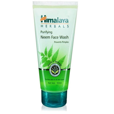 HIMALAYA NEEM FACE WASH 50ML