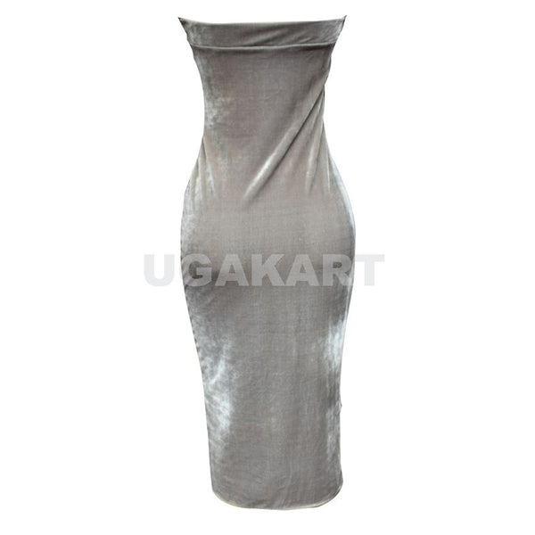 Grey Half Ladies Dress